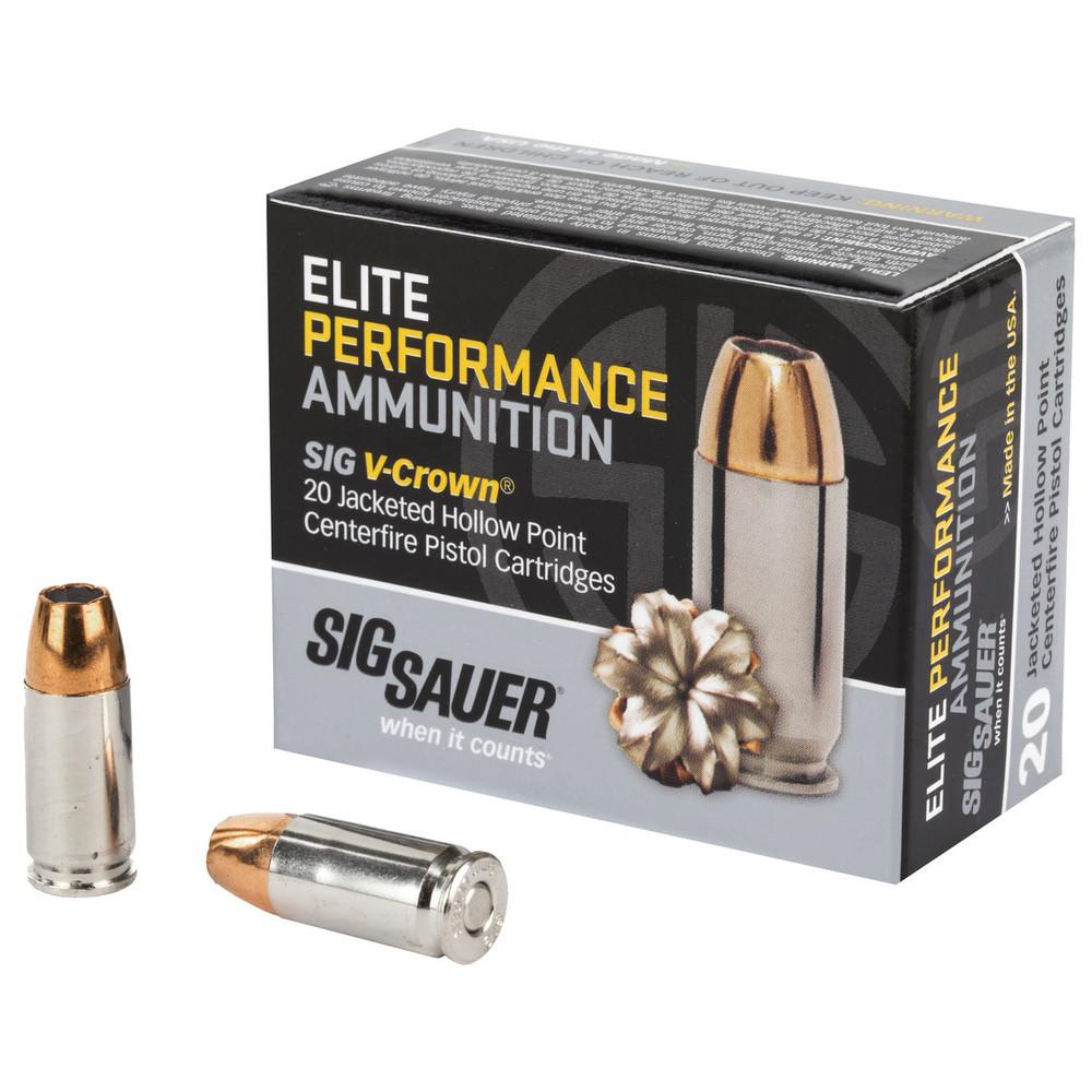 Sig Ammo 9mm 124gr Jhp 20/200