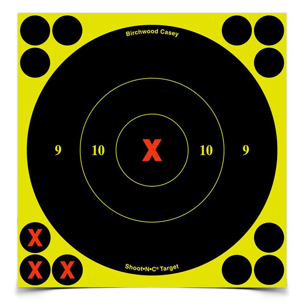 B/c Sht-n-c Rnd X-bullseye Tgt 60-6