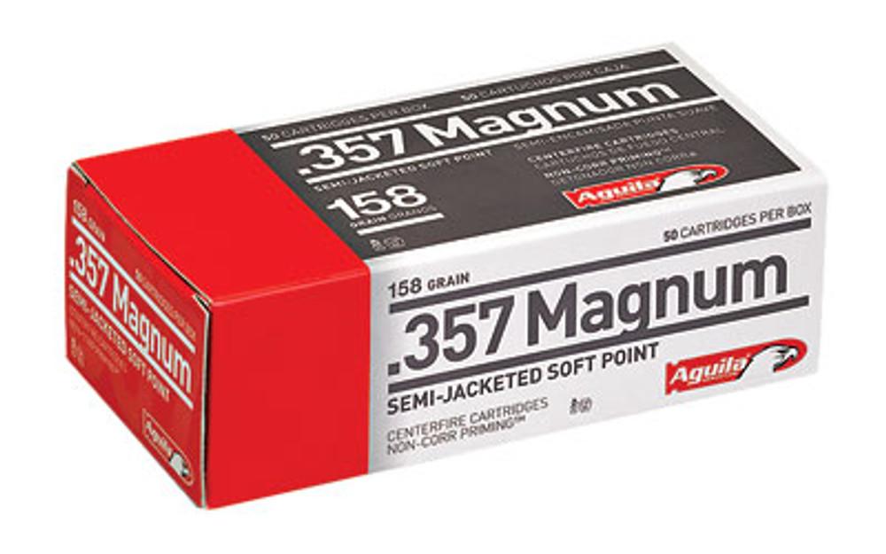 Aguila 357mag 158gr Sjhp 50/500