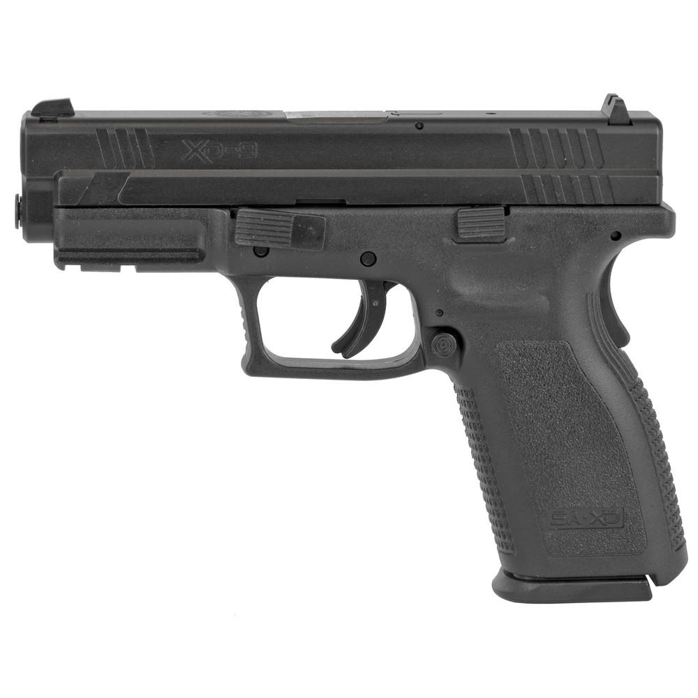 "Sprgfld Xd9 Def 9mm 4"" Blk 16rd"