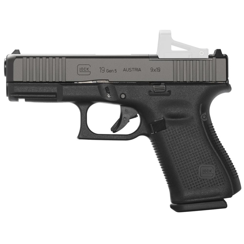 Glock 19 Gen5 9mm 15rd 3 Mags Mos Fs