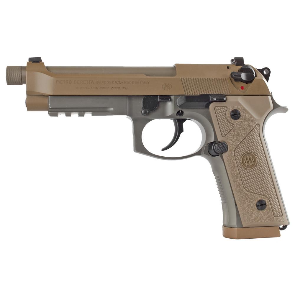 """Beretta M9a3 9mm 5"""" 10rd Fde 3mags"""