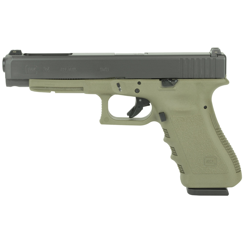 Glock 34 Competition 9mm 10r Od/ns