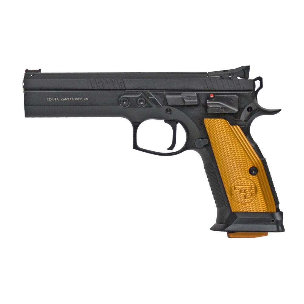 "Cz 75 Ts Orange 9mm 5.23"" Blk 20rd"