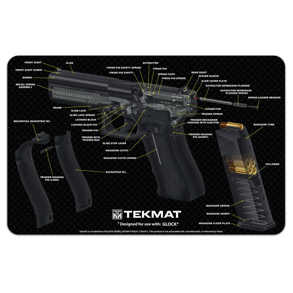 Tekmat Cutaway Pstl Mat For Glk Bk