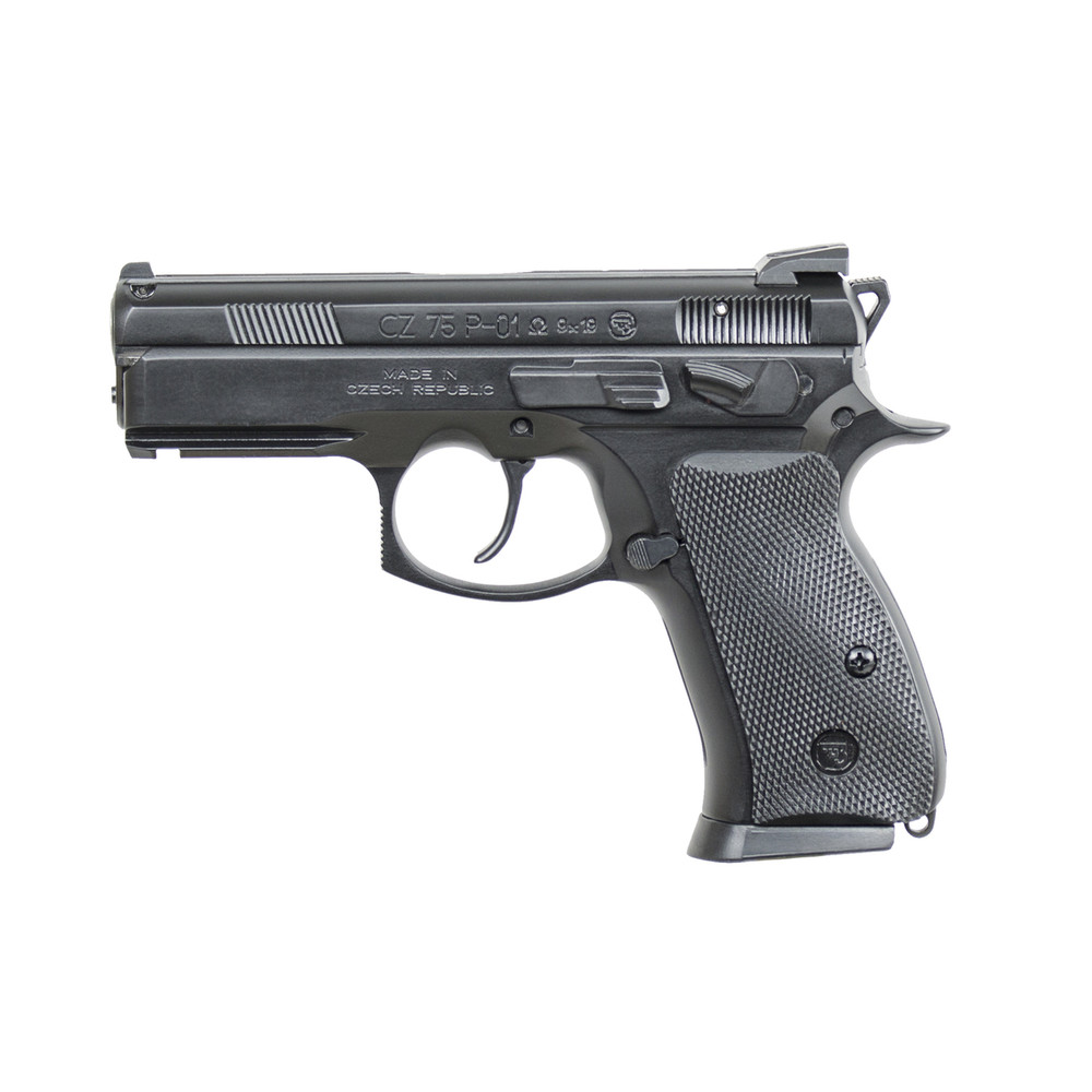 "Cz P01 Omega 9mm 3.75"" Blk 14rd"