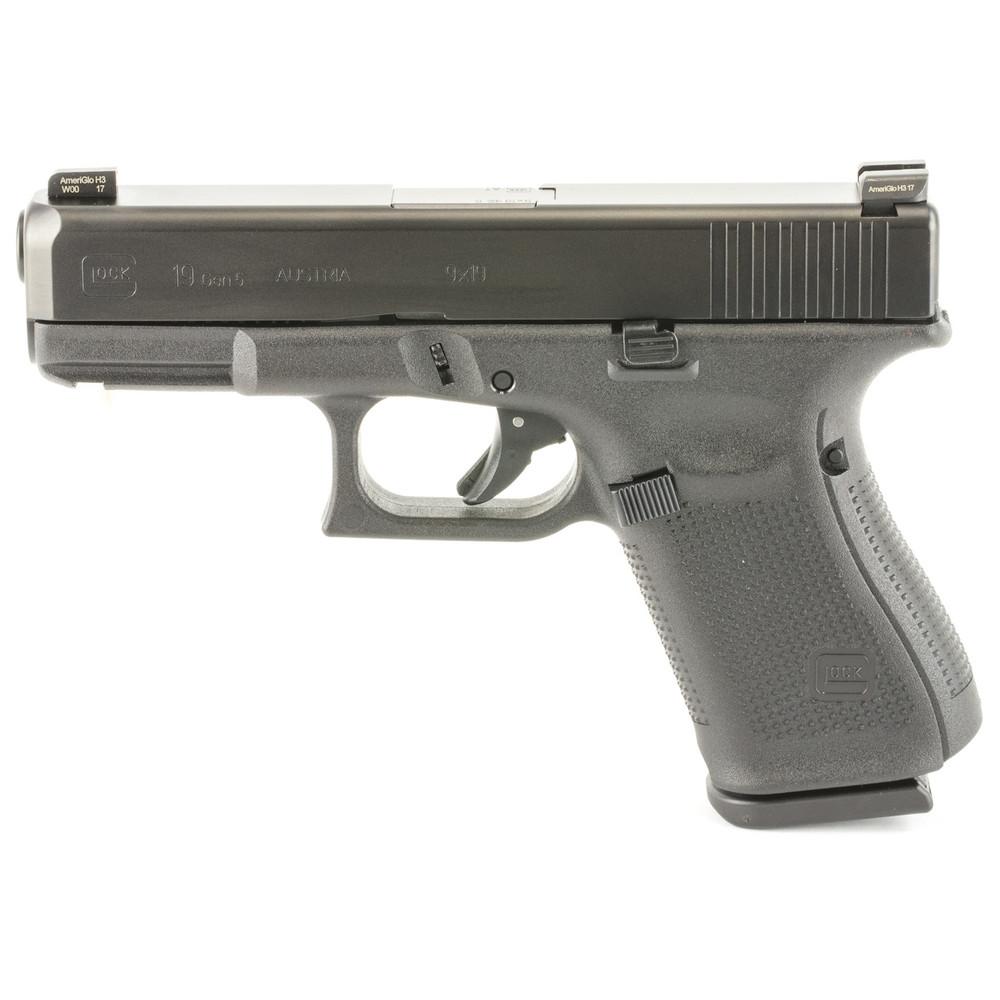 Glock 19 Gen5 9mm Ameriglo 15rd 3mag