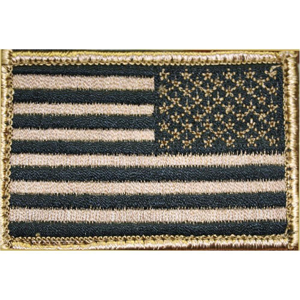 Bh Patch American Flag Rvrsd Tan/blk