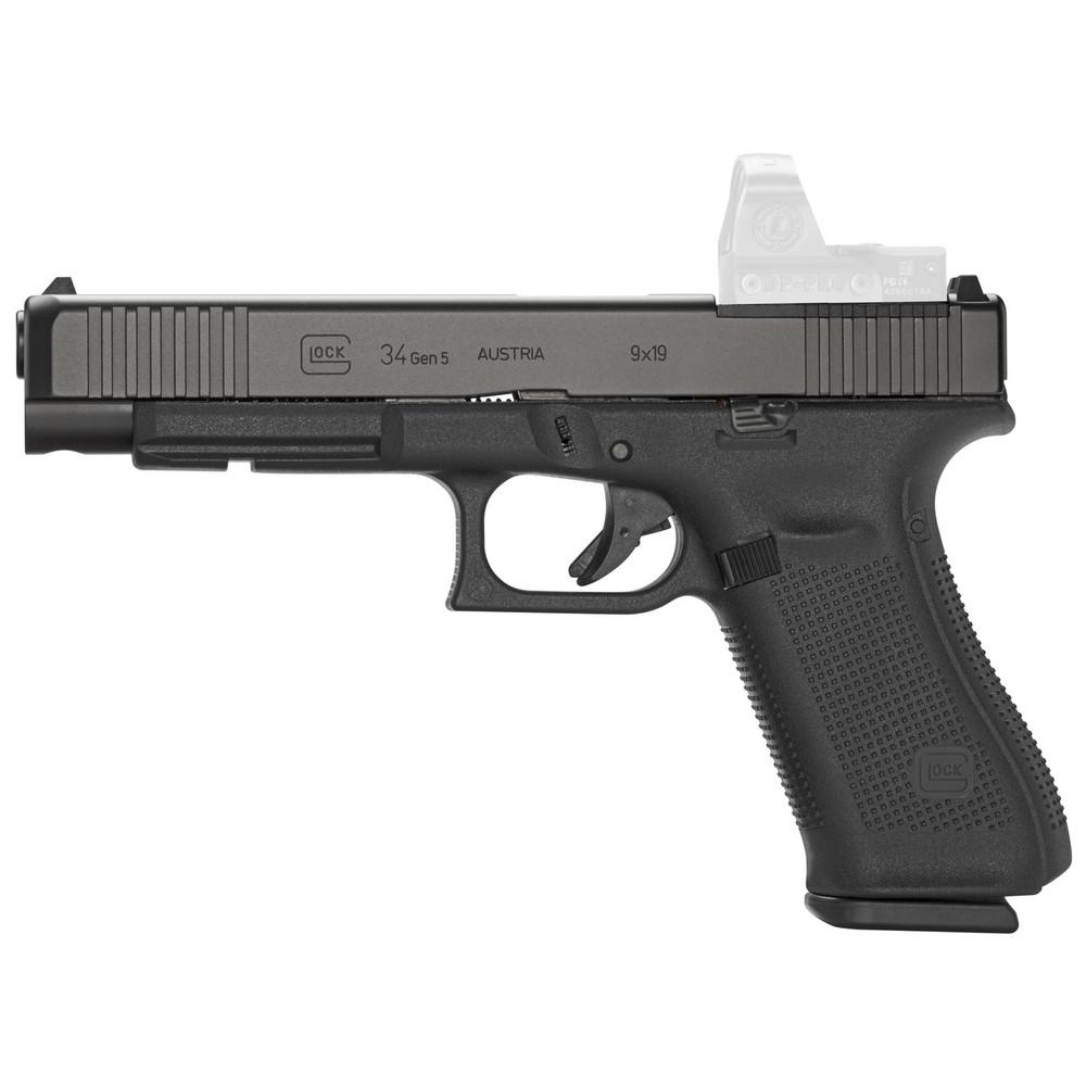 Glock 34 Gen5 9mm 17rd Mos Frt Ser