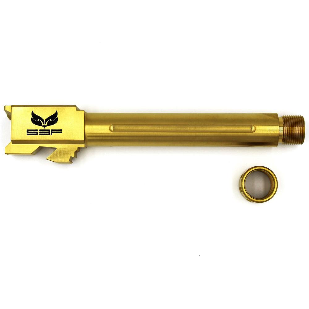 S3f Thrdd/fltd Bbl For Glock 17 Tin