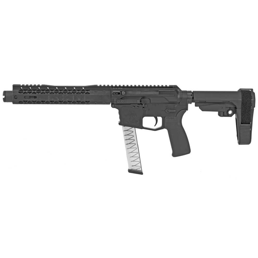 "Black Rain Ion9 9mm 8.75"" Mlok 30rd"