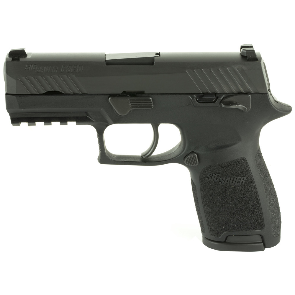"""Sig P320c 9mm 3.9"""" 10rd Blk Ms Ma"""