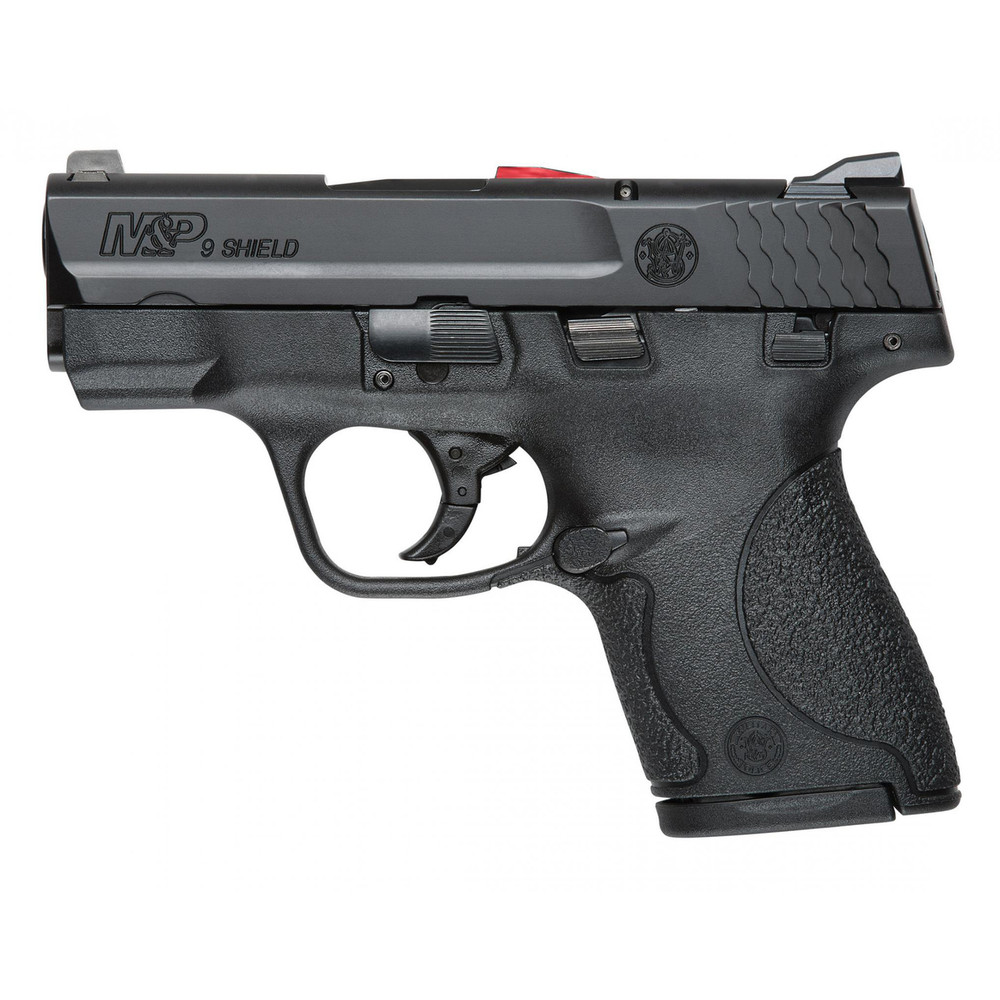 "S&w Shield 9mm 3.1"" Blk 7&8rd Ca"