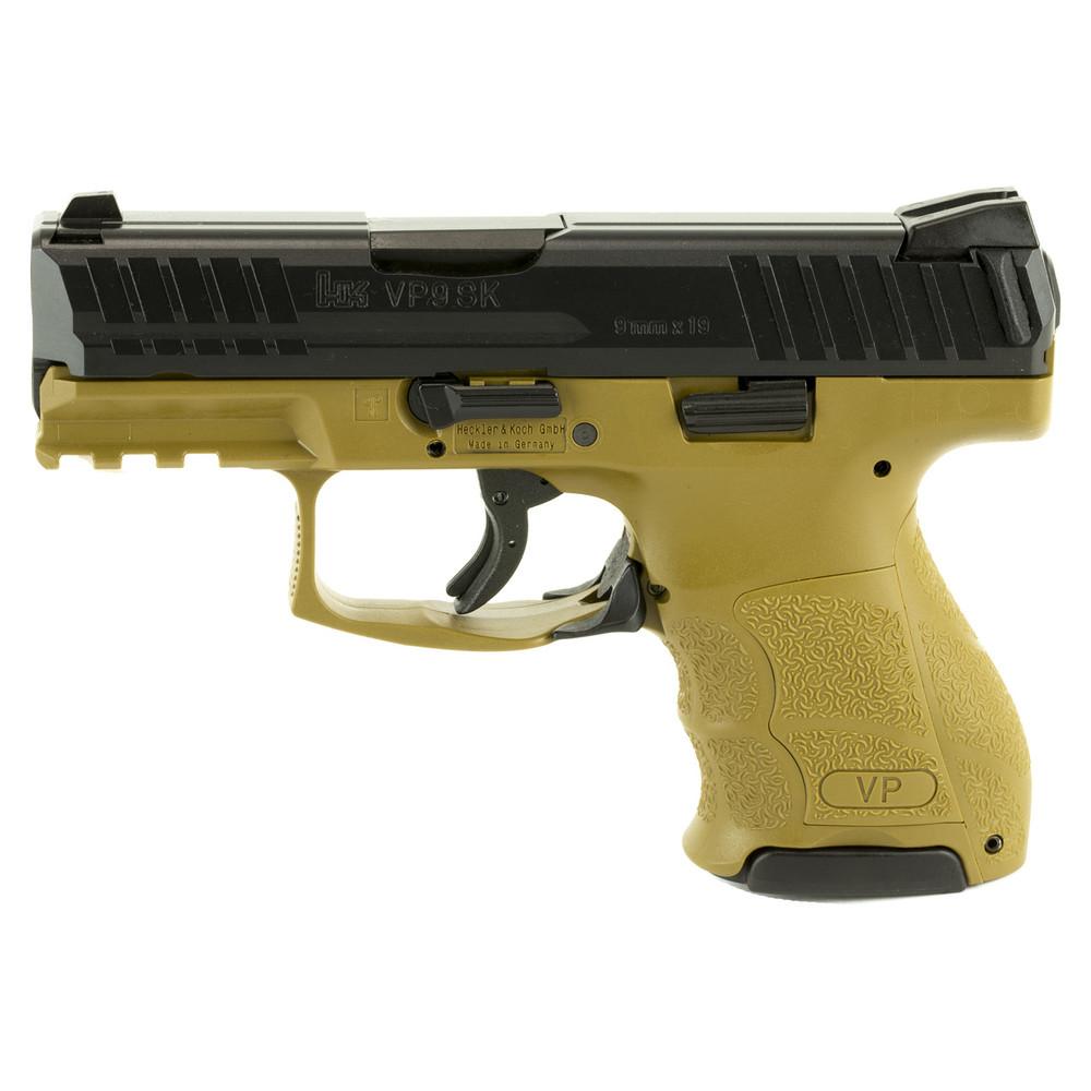 "Hk Vp9sk 9mm 3.39"" 10rd Fde 2mags"