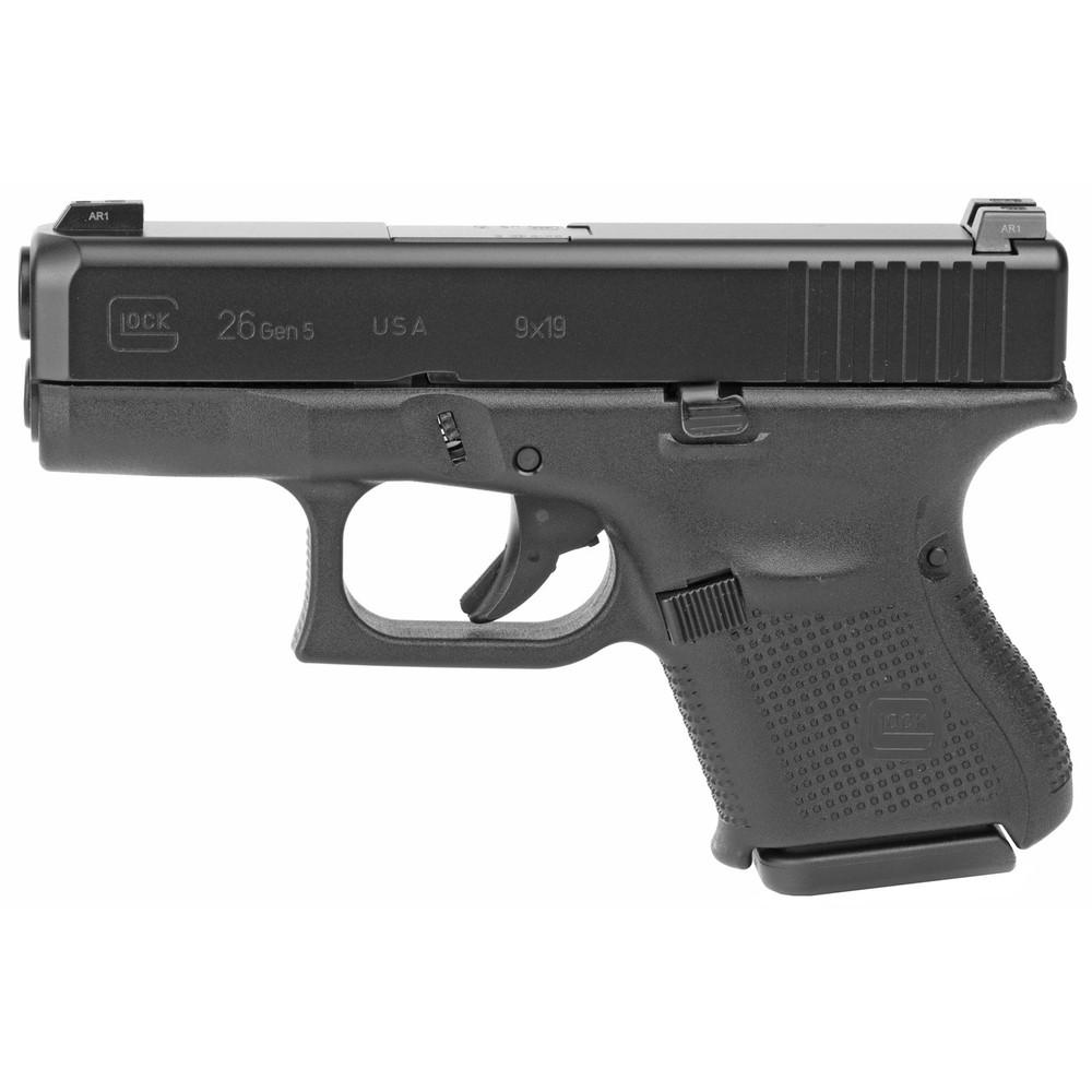 Glock 26 Gen5 9mm Gns 10rd 3 Mags