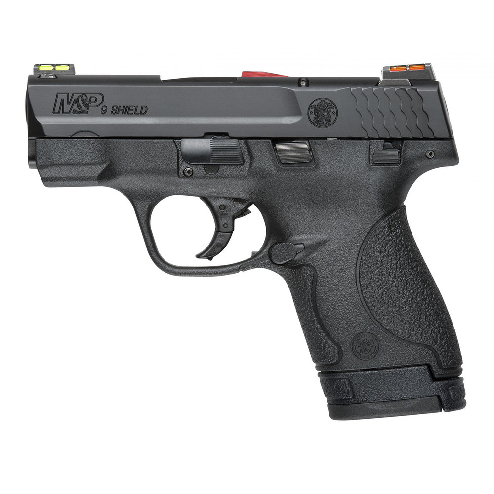 "S&w Shield 9mm 3.1"" Blk 8rd Hivz Ca"