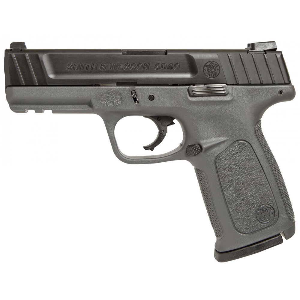 """S&w Sd40 40sw 14rd 4"""" Gry Fs 2mags"""