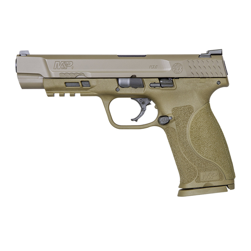 """S&w M&p 2.0 9mm 5"""" 17rd Fde Nms"""