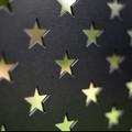 """American Flag (laser cut 12 gauge steel) 18"""" x 9.5"""""""