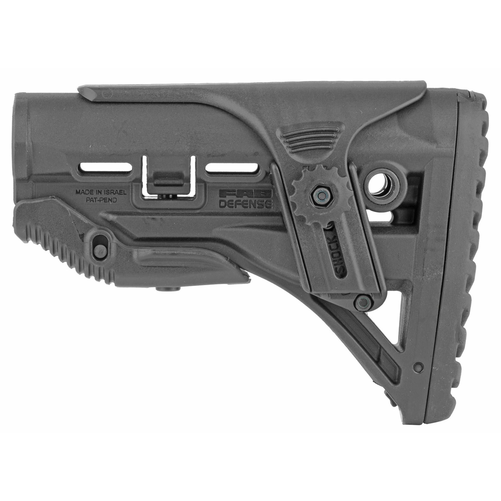 Fab Def Gl-shock Ar15 Stk W/riser