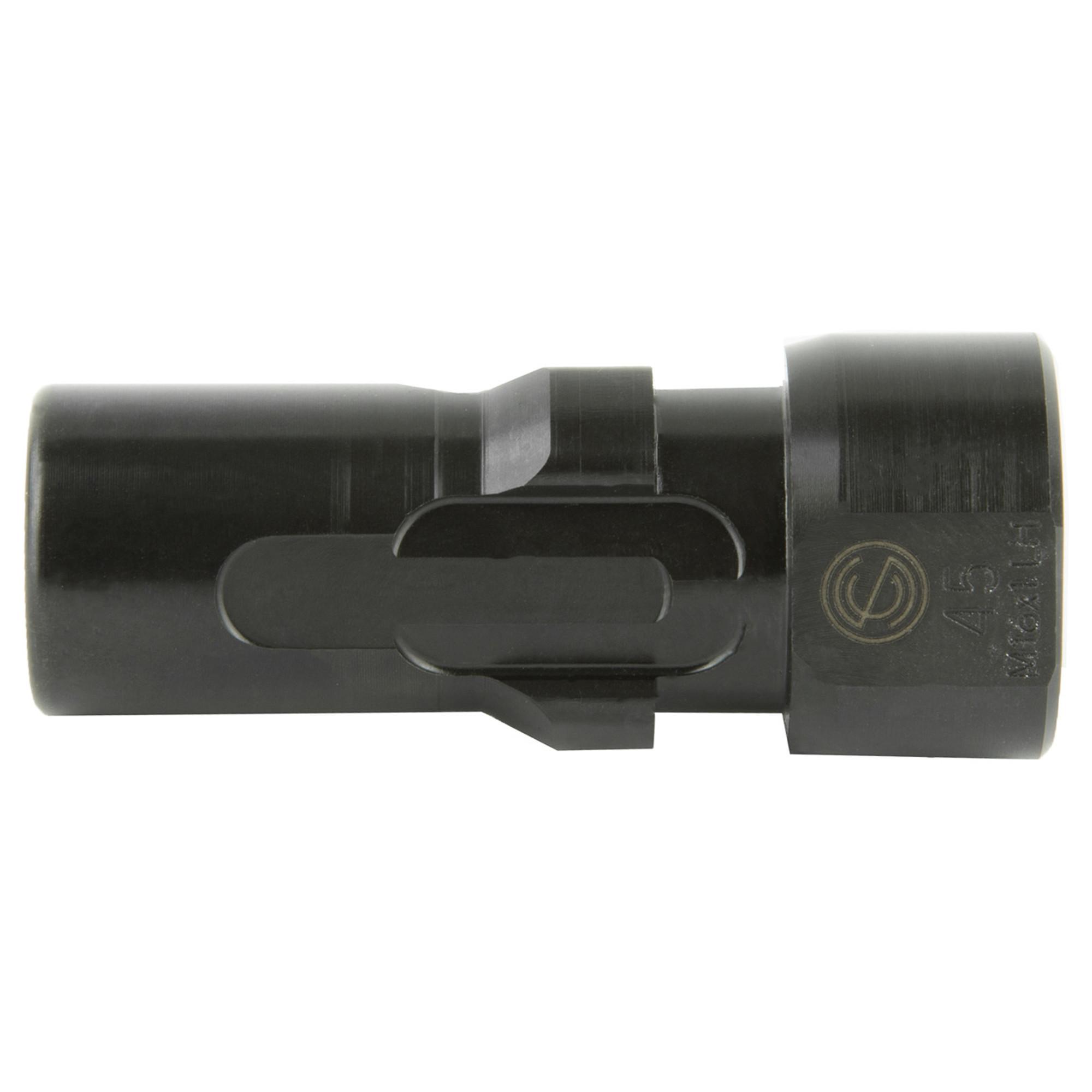 Sco 3lug Muzzle Device 45acp M16x1lh