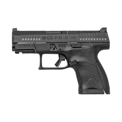 """Cz  P-10s 9mm 3.5"""" Blk Or Ns 12rd"""