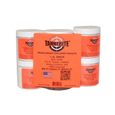 Tannerite Qtrt Brick 1/4lb Trgt 4/pk
