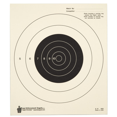 Action Tgt Bullseye Tag Paper 100pk