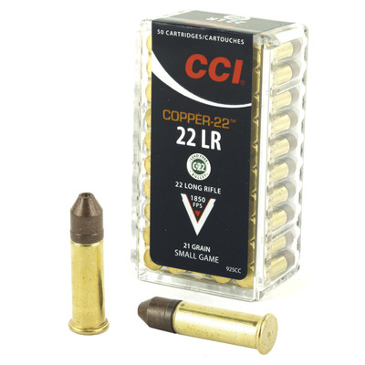 Cci Copper-22 22lr 21gr 50/5000