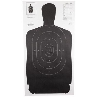 Action Tgt B27s Blk 100pk