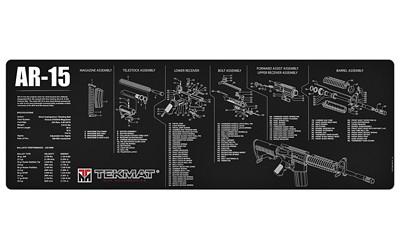 Tekmat Rifle Mat Ar15 Blk - TEKR36-AR15