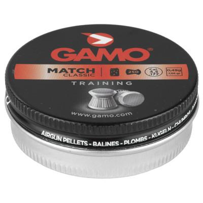 Gamo 250 Match Pellts Flat Nose .177