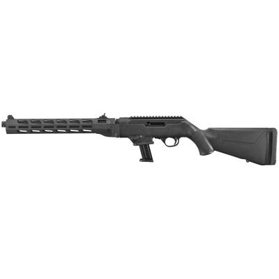 """Ruger Pc 9mm 16"""" 17rd Bl Thrd Mlok"""