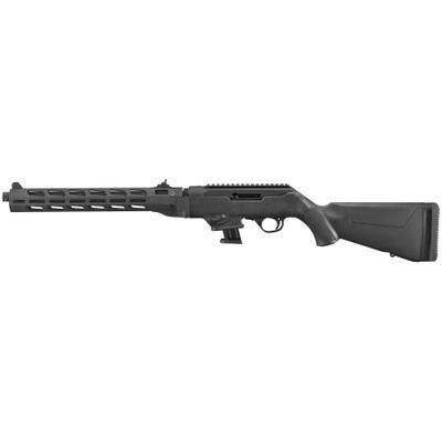 """Ruger Pc 9mm 16"""" 10rd Bl Thrd Mlok"""