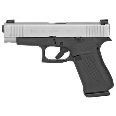 Glock 48 9mm 10rd Silver Ameriglo