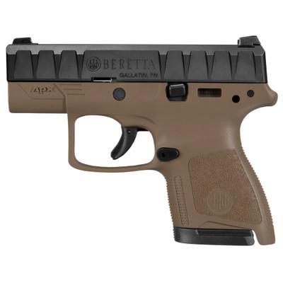 """Beretta Apx Carry 9mm 3.07"""" Fde 6/8"""