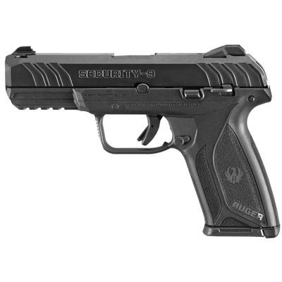 """Ruger Sec-9 9mm 4"""" Bl 15rd 3-dot - RUG03810BLEM"""