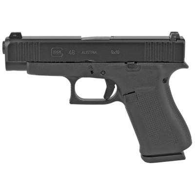 Glock 48 9mm 10rd Blk Gns