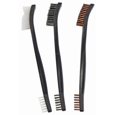 B/c Utility Brushes Brnz/nyl/stl 3pk
