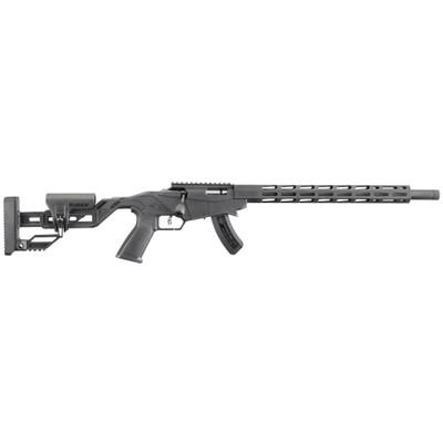 """Ruger Prec Rimfire 22lr 15rd 18"""" Blk - RUG08400BLEM"""