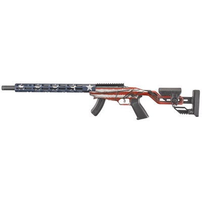 """Ruger Prec Rimfire 22lr 18"""" Usa 15rd"""