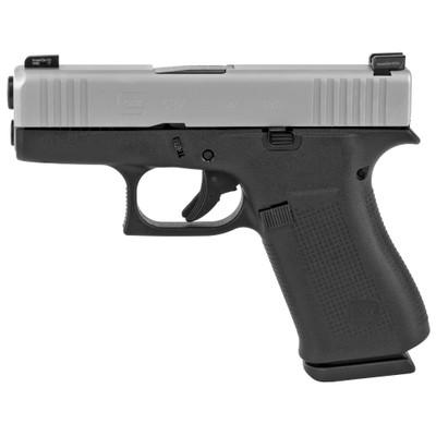 Glock 43x 9mm 10rd Silver Ameriglo