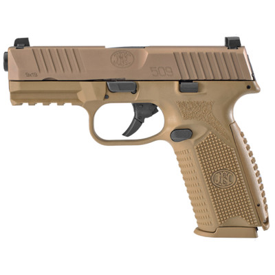 "Fn 509 4"" 9mm 17rd Fde"