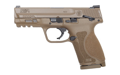 "S&w M&p 2.0 9mm 4"" 15rd Fde Wds"