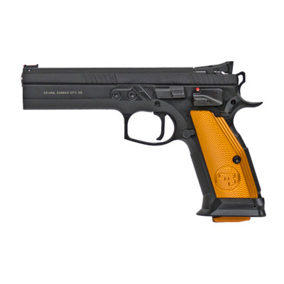 "Cz 75 Ts Orange 9mm 5.2"" 10rd"
