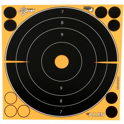 "Allen Ez Aim 8"" Bullseye 6pk"