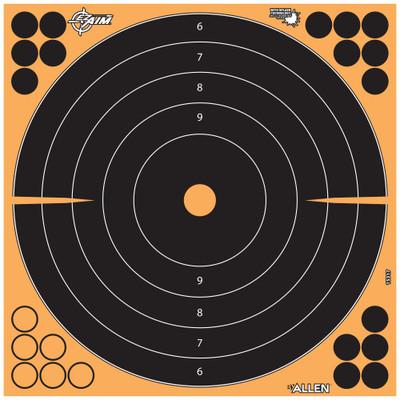 "Allen Ez Aim 12"" Bullseye 5pk"