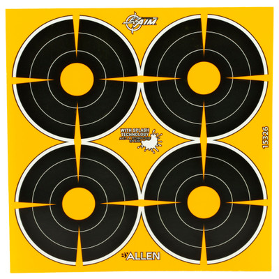 "Allen Ez Aim 3"" Bullseye 12 Sheets"