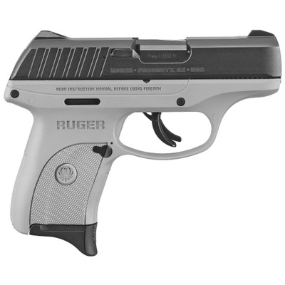 """Ruger Ec9s 9mm 3.1"""" Gry 7rd"""