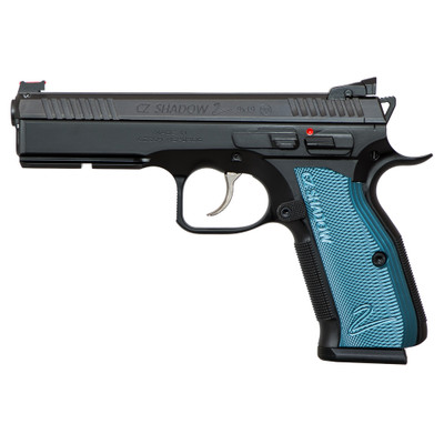 "Cz Shadow 2 9mm 4.89"" Bl/blk 17rd - LEDCZ7591257"